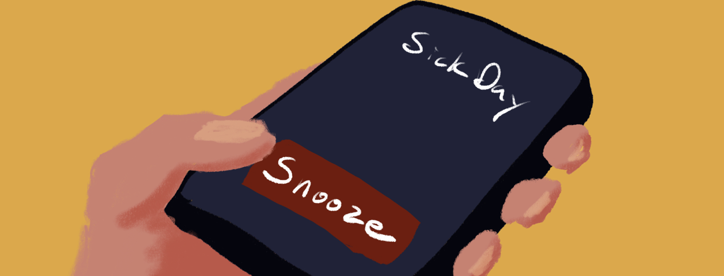 phone alarm with snooze button