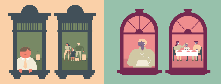 windows into holiday homes
