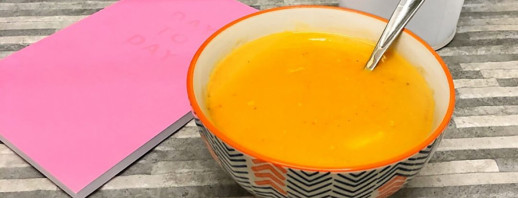 My 'Belly Rest' Chicken And Sweet Potato Soup image