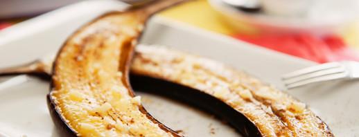 4 ways to make quick and tummy friendly baked bananas image