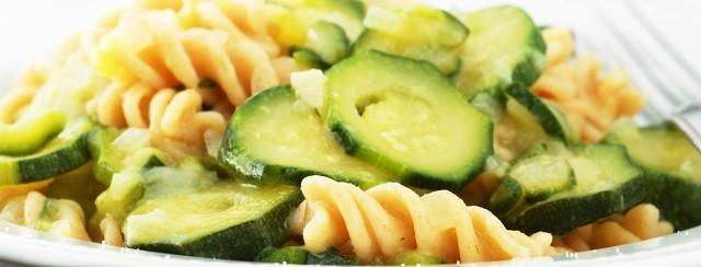 Zucchini Goat Cheese Pasta image