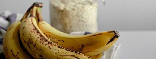 Ginger and banana overnight oats image