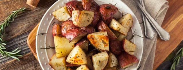 Air Fried Baby Red Potatoes image