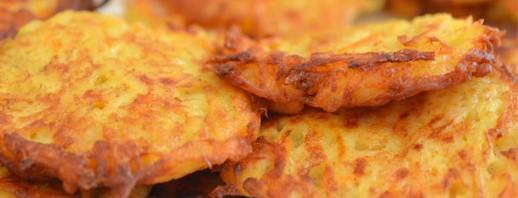 Zucchini Potato Pancakes image