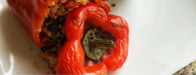 Ground Turkey Stuffed Peppers image