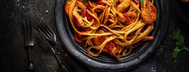 Spicy Prawn Pasta Bake image